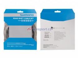 Shimano bowdeny+lanka řadící set SH SUS silniční, černý