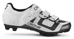 Tretry Crono MTB CX3 Nylon White