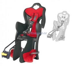 Bellelli zadní sedačka B-ONE STANDARD (šedo/červená)