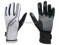 Force rukavice LON celoprstové (bílé)