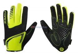 Force rukavice MTB TARGET letní (fluo)
