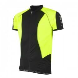 FORCE dres T12 krátký rukáv, barva černo-fluo vel. XL