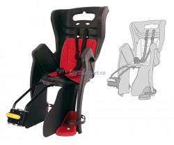 Bellelli zadní sedačka LITTLE DUCK STANDARD (šedá/červená)