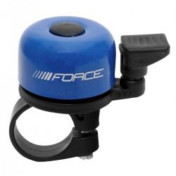 Force zvonek na kolo mini - modrý