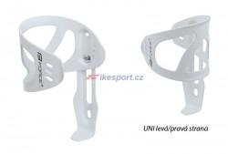 Force Alu košík láhve UNI (bílý)