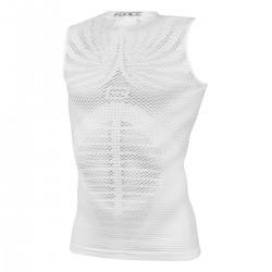 FORCE TROPIC triko/funkční bez rukávů, bílé