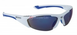 Force brýle LADY bílé + modrá skla