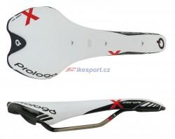 Prologo sedlo X-ZERO TiRox 128 bílé