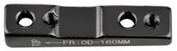 Adaptér zadní FORCE FLAT 160mm, 34mm