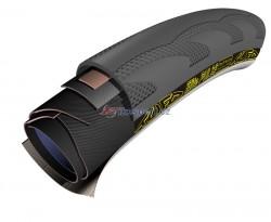 Tufo Elite Pulse 700x22c galuska černo-černá