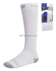 Force ponožky kompresní (bílé)