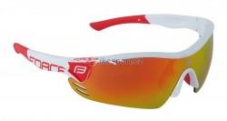 Force brýle RACE PRO - bílo/červené