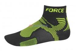 Force ponožky 2 (černé-fluo)