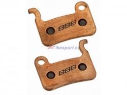 BBB destičky BBS-54S XT, XTR, LX, Saint, Hone - sintrované