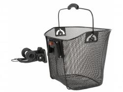 Ventura koš na řidítka klip 22.2-31.8mm černý