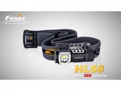Fenix HL50 čelovka/ruční svítilna