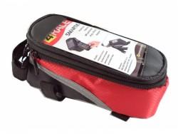 4RACE brašna přední-na mobil (červená)