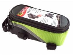 4RACE brašna přední-na mobil (zelená)
