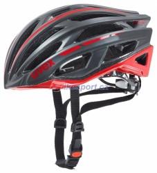 UVEX přilba Race 5, barva černo/červená