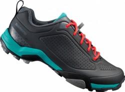 Shimano boty MT3W černá/zelená