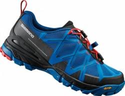 Shimano boty MT54 modré