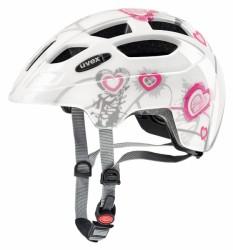 Přilba UVEX 17 Finale JR white/pink 51-55cm
