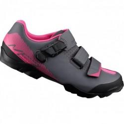 Shimano ME3 boty šedo-růžové