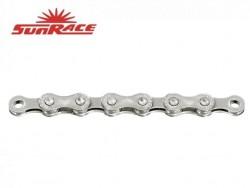 SunRace řetěz CN12A 12k 126čl. stříbrný