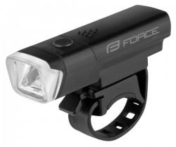 FORCE LUX světlo přední 1 dioda + baterie
