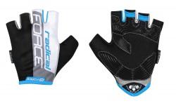FORCE RADICAL rukavice, černo-bílo-modré