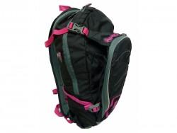 HAVEN batoh Luminite černo-růžový 11L + 2L rez.