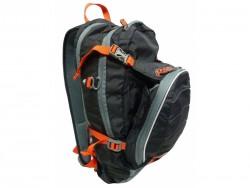HAVEN batoh Luminite černo-červený 11L + 2L rez.