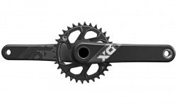 Kliky SRAM X01 Eagle GXP 175mm Black 32z X-SYNC 2