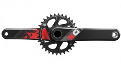 Kliky SRAM X01 Eagle Boost GXP 175mm Red 32z X-SYNC 2