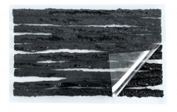 Force knoty-dílenská opravná sada, černé 10ks