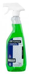 FORCE E-BIKE čistič rozprašovač 750 ml - zelený