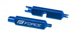 FORCE klíč na vložky AV/FV ventilků, hliníkový
