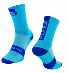 FORCE LONG PRO ponožky, modré