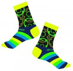 FORCE SPROCKET ponožky, žluté
