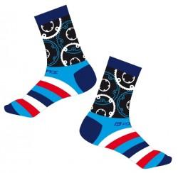 FORCE SPROCKET ponožky, modré