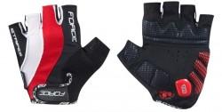 Force rukavice STRIPES gel (červené)
