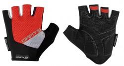 FORCE DARTS gel rukavice bez zapínání, červeno-šedé