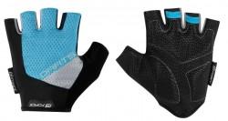 FORCE DARTS gel rukavice bez zapínání, modro-šedé