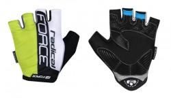 FORCE RADICAL rukavice, fluo-bílo-černé