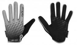 FORCE MTB ANGLE rukavice letní, šedo-černé