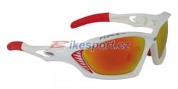 Force brýle MAX - bílo/červené