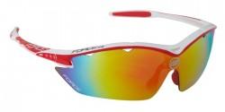 FORCE RON brýle bílo-červené, multilaser skla