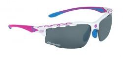 FORCE QUEEN brýle bílo-růžové, černá laser skla