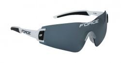 FORCE FLASH brýle, bílo-černé, černá skla
