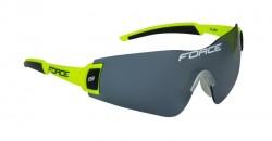 FORCE FLASH brýle, fluo-černé, černá skla